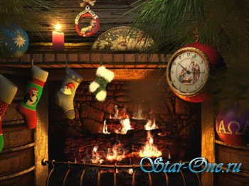 Fireside Christmas 3D Screensaver 1.0 Build 5
