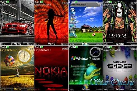 Новые темы для телефонa Nokia №7