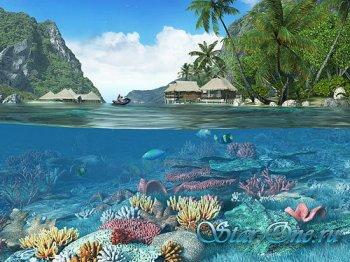 Portable Caribbean Islands 3D Screensaver 1.1 Build 3 Rus